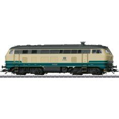 Märklin 39186 Diesellokomotive 218 250-9 ozeanblau-beige der DB mfx+