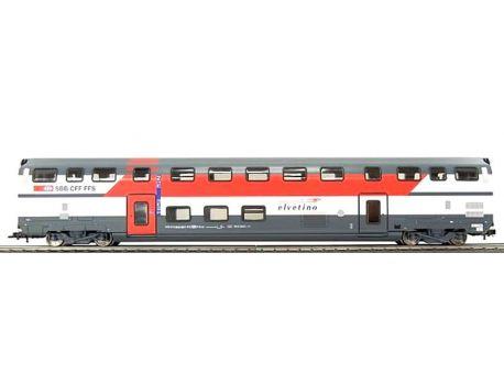 HAG 61124-L SBB IC-Doppelstockwagen Speisewagen Elvetino