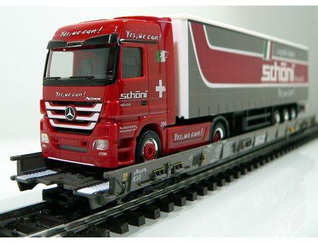 Märklin 47404 SBB Hupac Typ Saakms LKW Schöni Logistik