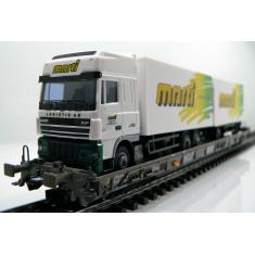 Märklin 47404-120 SBB Hupac Typ Saakms LKW - Marti Logistik AG