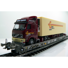 Märklin 47404-090 SBB Hupac Typ Saakms LKW - Galliker Transport & Logistik