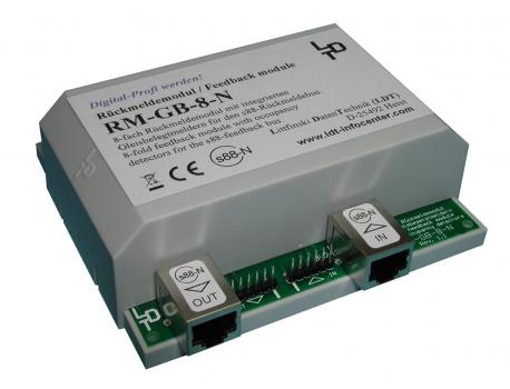 Litfinski 320103 Rückmeldemodul mit Gleisbesetztmeldung RM-GB-N-G