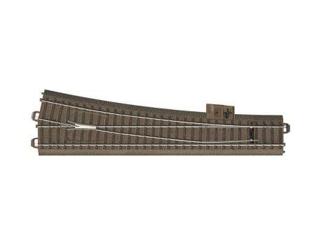 Trix 62712 schlanke Weiche rechts, Weichenbogen 12,1°