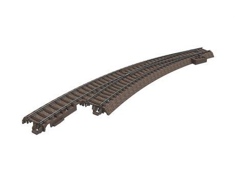 Trix 62771 schlanke Bogenweiche links - R3 515 mm / 30°