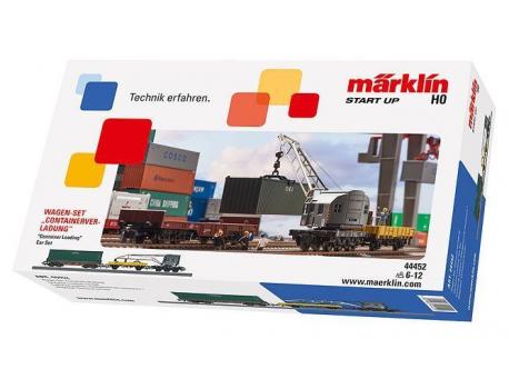 """Märklin 44452 Wagen-Set """"Containerverladung"""""""