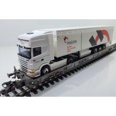 Märklin 47404 - SBB Hupac Typ Saakms - Exklusiv - Holcim Scania Topline