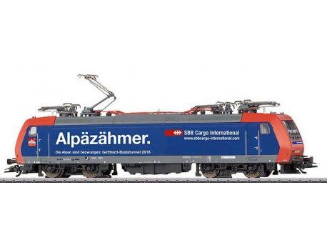 Märklin 36627 BLS Elektrolok BR482 - Alpäzähmer, Mfx Sound
