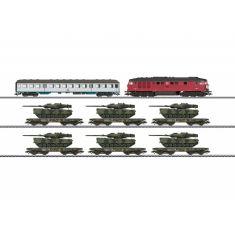 Märklin 26606 Leopard Panzerzug mit 6 Panzer 2A6 BW, DB AG, Ep. V