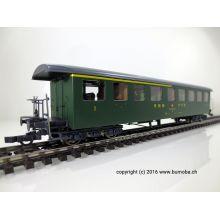 Roco 44730 SBB Seetalbahnwagen 1. / 2. Klasse Tannengrün