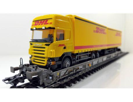 Märklin 47404-018 SBB Hupac Saakms LKW DHL Export & Logistics