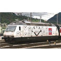 Kato 137118 SBB E-Lok Re 460 Gottardo Mondaine. Ep.VI