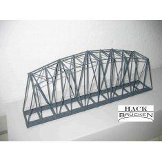 HACK 13250 Bogenbrücke - Metall 40cm, 1- gleisig