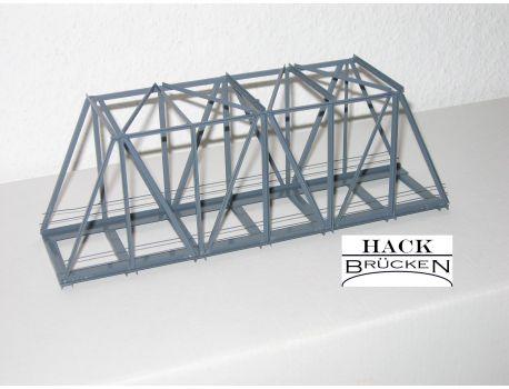 HACK 11050 Kastenbrücke 21 cm schräg 1- gleisig