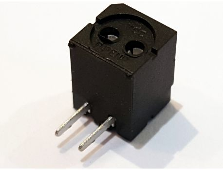 00122 Bi-Pin Lampen Sockel- Fassung mit Lötfahne / Steckanschluss