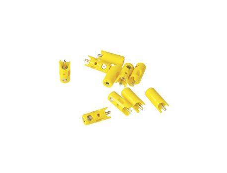 Märklin 71412 Stecker gelb (10 Stück)