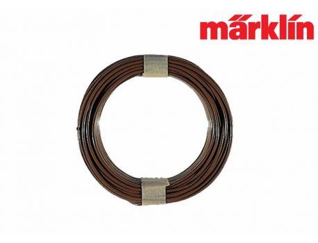 Märklin 7102 Kabel braun Querschnitt 0.14mm2