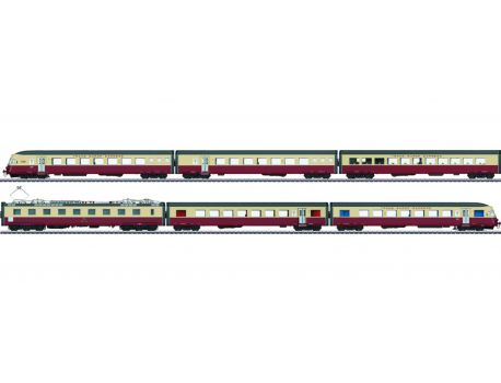 "Märklin 37547 SBB Elektro- Triebwagenzug RAe TEE 1052 ""Cisalpin"""