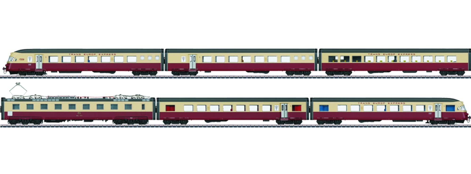 Märklin 37547 Sbb Elektro Triebwagenzug Rae Tee 1052 Cisalpin