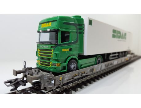 Märklin 47404-231 SBB Hupac Typ Saakms - Sidag Transport AG Sempach