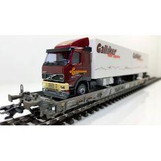 Märklin 47404-300 SBB Hupac Typ Saakms Märklin - Galliker Food Logistics
