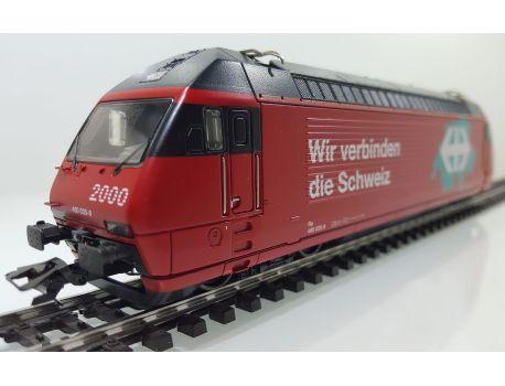 Märklin 34619 SBB E-Lok Re 460 Mfx - Wir verbinden die Schweiz - Sound