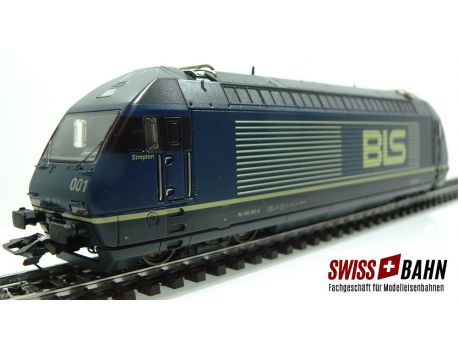 Märklin 3463.001 BLS E-Lok Re 465 Mfx Digital - Sound