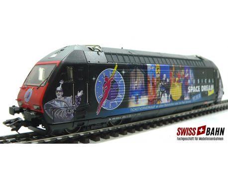 "Märklin 34634.001 SBB Re 460 ""Space Dream"" - MFX Sound"
