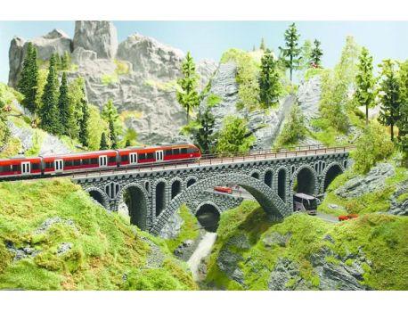 Noch 58670 Rhône-Viadukt aus Hartschaum gefärbt