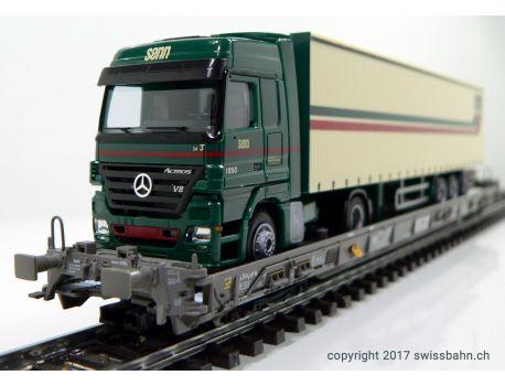 Märklin 47404 SBB Hupac Typ Saakms LKW - Senn Transport AG