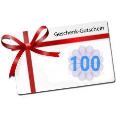 100 - Swissbahn Geschenkgutschein - Wert 100 Franken