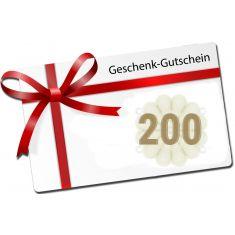 200 - Swissbahn Geschenkgutschein - Wert 200 Franken