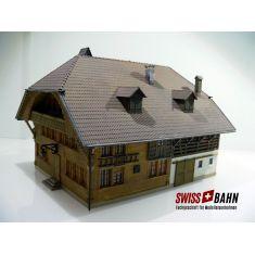 Fertigmodell 38804 Emmentaler Bauernhaus - Handpatiniert