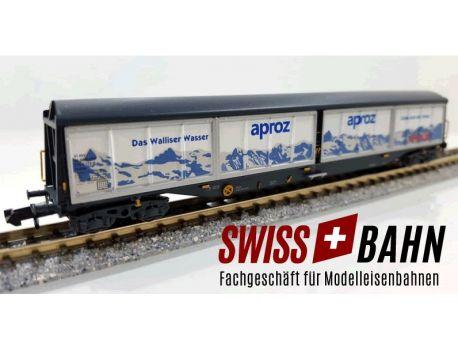 Hobbytrain 23451 SBB Schiebewandwagen Habils Migros Aproz