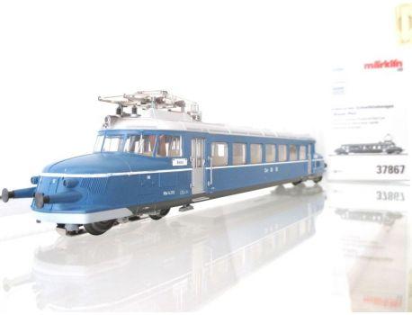 """Märklin 37867 Elektrischer Schnelltriebwagen """"Blauer Pfeil"""""""