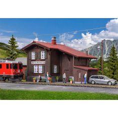 Kibri 39493 CH - Bahnhof Davos Monstein inkl. Beleuchtung H0