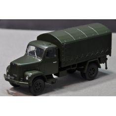 Saurer 2DM Militärlastwagen Plane geschlossen H0