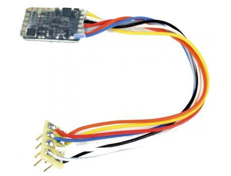 Zimo MX621R Sub Miniatur Decoder 1.5A DCC - 8 Pol. Kabel Schnittstelle