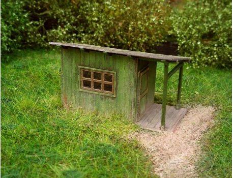 MS 98517 Schäbige Gartenlaube - LC Bausatz H0