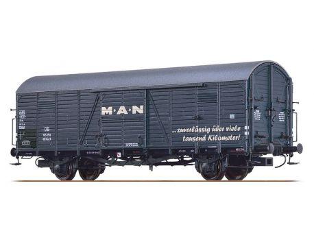 BRAWA 48718 DB Güterwagen Gltrhs23 - M A N