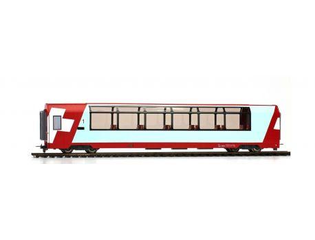 "BEMO 36891152 - RhB Api 1315 ""Glacier-Express"" Panoramawagen 1.Kl. H0"