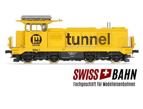 LS MODEL 17567 SBB Diesellok Bm 4/4 gelb Marti AG Rösli 1