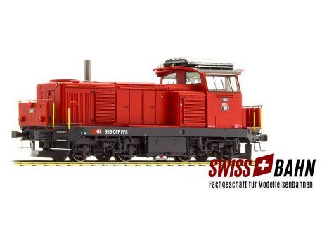 LS MODEL 17566 SBB Diesellok Bm 4/4 Rot Digital - AC