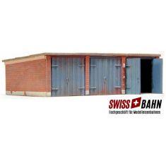 Artitec 10.163 Alte Garage mit 3 Boxen H0