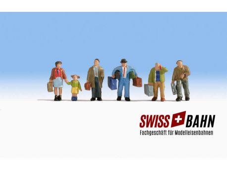 NOCH 15110 Schweizer Bauarbeiter, CH Baustelle H0