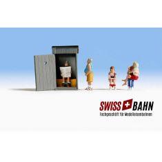 NOCH 15560 Klo- Geschichten - Scheisshaus Geschichten