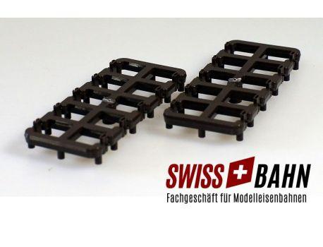 BEMO 4288000 Isolier Schienenverbinder 20 Stück