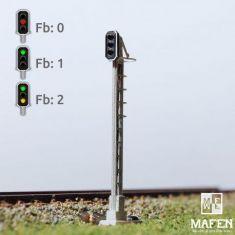 MAFEN 413602 - SBB - Hauptsignal 3 Lichter -grün/rot/gelb