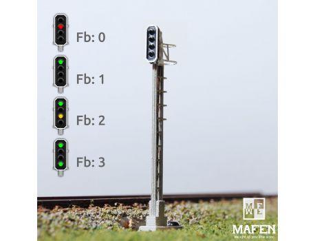 MAFEN 413603 - SBB - Hauptsignal 4 Lichter -grün/rot/gelb/grün