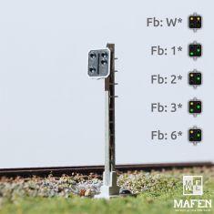 MAFEN 413610 SBB - Vorsignal 4 Lichter -gelb/gelb/grün/grün- LED