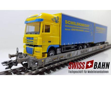Märklin 47404-198 SBB Hupac Typ Saakms - Schildknecht 9323 Steinach